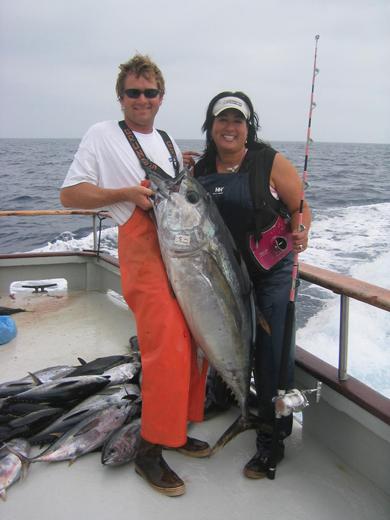 Bigeye tuna catch.