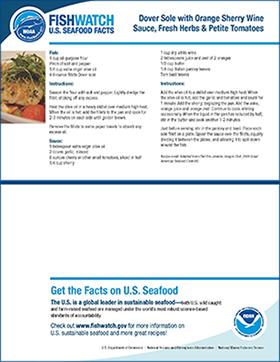 Thumbnail image of FishWatch factsheet