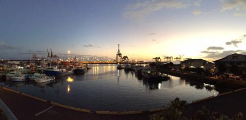 Hawaiian port